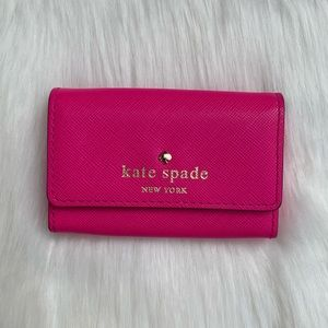 Kate Spade New York Card Holder Hot Pink